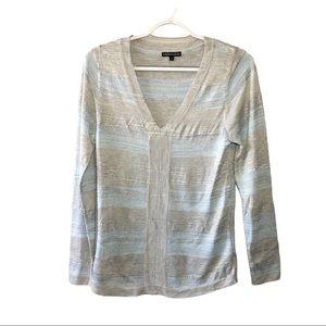 Leo & Ugo Striped Shirt Size 1 (Small)